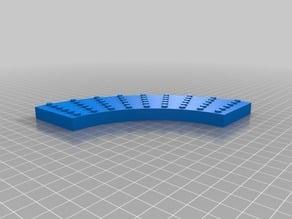 My Customized Curved LEGO Brick