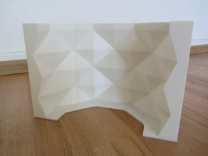Geometric Concrete Pot Mold - Fixed Sides