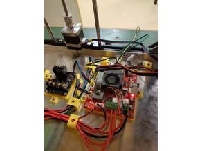 Tronxy X5S mainboard mounting bracket
