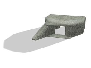 1/72 regelbau 667 bunker for pak 43/41 without side skirts