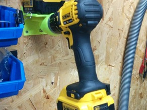Wall mount for cordless drill