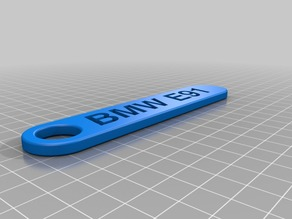 My Customized Personalized Key Chain - Double rounded