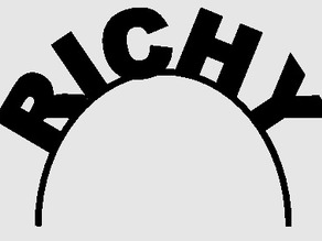 Richy name banner