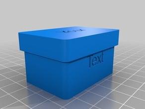 Customizable box with separators