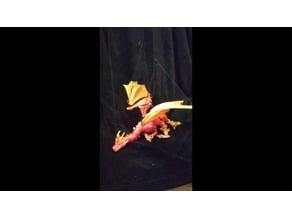 Braq the dragon puppet