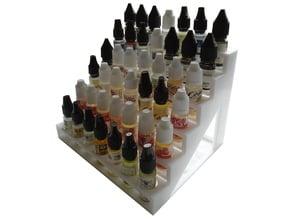Bottle Rack For 42 10ml Vape Bottles