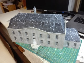 laser cut 28mm chateau