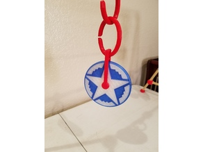 Baby Toy B-2 Bomber Hanging Spinner