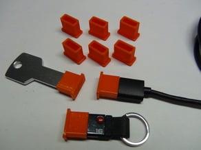 USB-A Male Flexible Dust Cap
