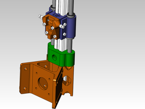 8mm Axis mount & Linear Bearingr mount for 20mm&15mm extrusion