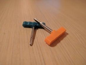 thread tap handle