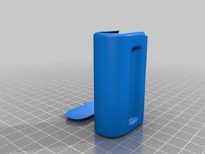 AA Battery Storage slide top box - dual battery