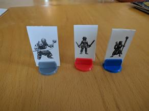 Standee Base for Cardboard Miniatures