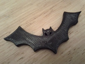 Halloween Bat Fridge Magnet