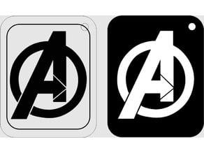 Avengers endgame keychain