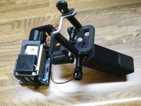 GoPro Hero2 Gimbal fits standard GoPro Mounts