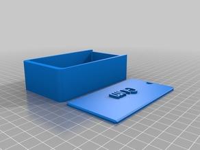 2 Orbit Gum Customized Round Box with Lid