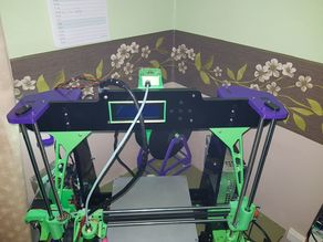 Anet A8 Rear Bowden LCD Mount