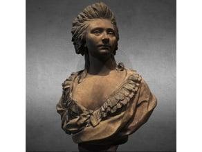 Bust of Angélique d'Hannetaire