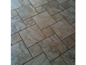 Pinwheel Tile Pattern (Roller & Stamp)