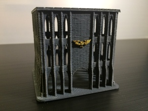 Small Imperium Building #2 for Epic 40K (6mm scale)