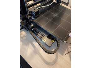 Anycubic chiron y-as Support Cable-chain y-as