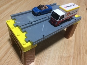 Dual line Block for Tomica System
