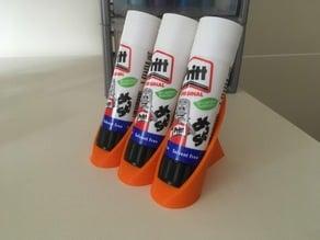 Triple Pritt / Glue Stick holder
