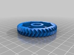 Eckstruder Herringbone gears