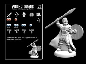 Viking Guard (18mm scale)
