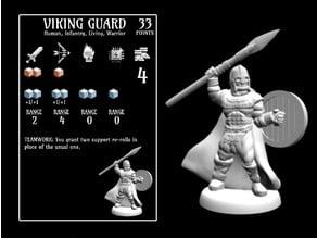 Viking Guard (18mm scale)