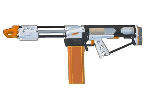 Caliburn Mag-Fed Pump-Action Nerf Blaster