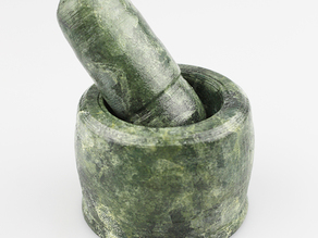 mortar and pestle for grinding