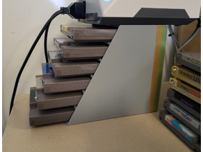 NES Cartridge Rack