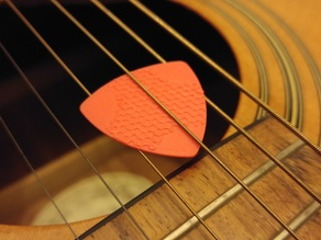 Hex Guitar Pick