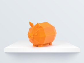 Low Poly Piglet