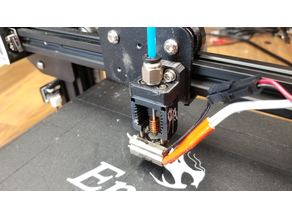 Simple Mosquito Hotend mount for ender 3