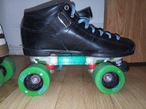 3-piece Quad Skate Plate for Rollerskates Roller Skate