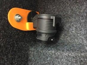 Holder for trailer hook electric adaptor (Seat Ibiza 6J)