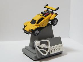 Rocket League Octane & Display Stand