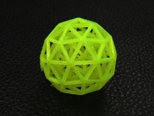 Geodesic Sphere in Sphere