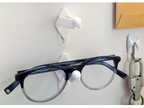 Wall Mount For Glasses (Adhesive)