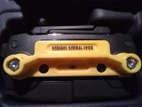 DJI Mavic Joystick Remote Gaurd with Gimbal Lock Reminder