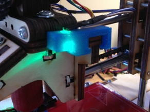 PrintrBot JR LED Mount