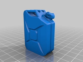 Scale Accessory - Jerrycan