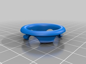 Sink oveflow ring