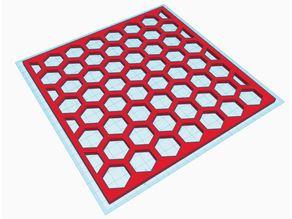 Hexagon Paint Pattern Template