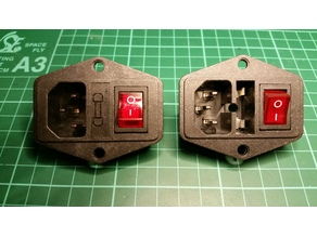 Terminal power socket fuse holder