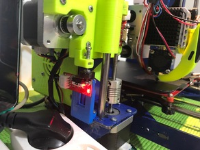 adjustable z axis endstop mount for prusa  p3steel