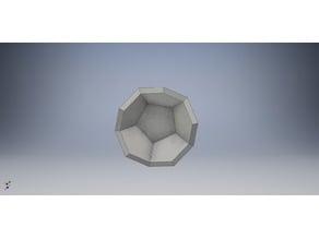 Pentagon Cup Half